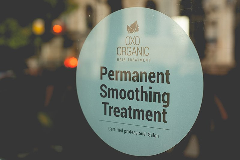 oxo organic hair smoothing treatment